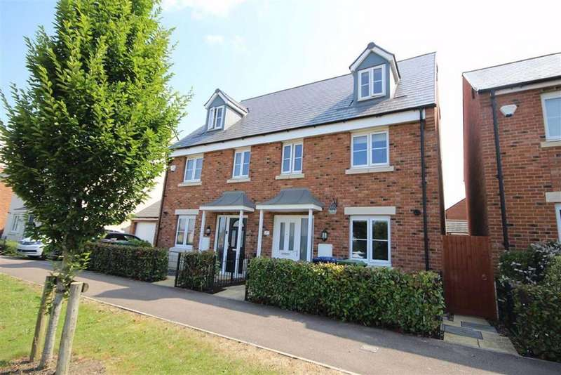 4 Bedrooms Town House for sale in Sunrise Avenue, Bishops Cleeve, Cheltenham, GL52