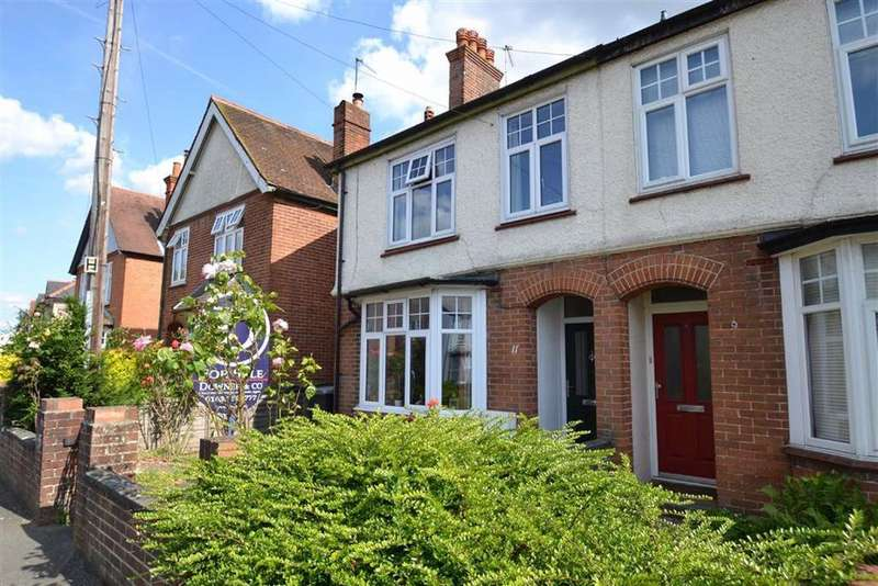 3 Bedrooms Semi Detached House for sale in Queens Road, Newbury, Berkshire, RG14