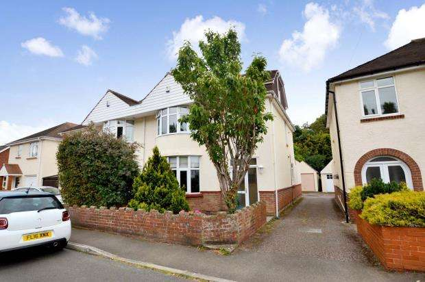 4 Bedrooms Semi Detached House for sale in Buckerell Avenue, St Leonards, Exeter, Devon