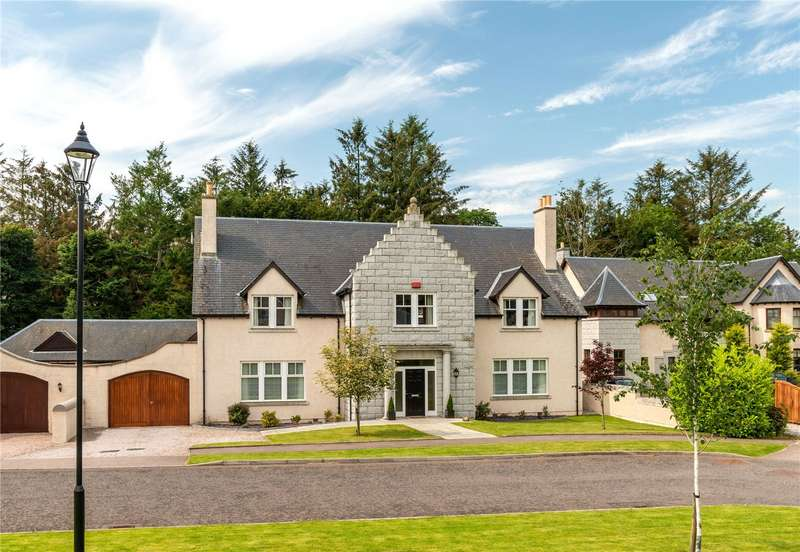 5 Bedrooms Detached House for sale in 2 Woodland Gardens, Daviot, Inverurie, Aberdeenshire, AB51