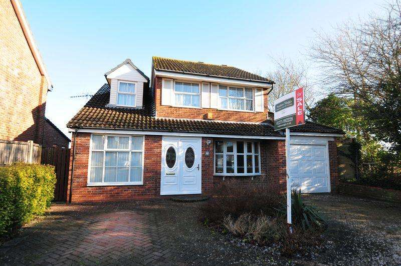 4 Bedrooms Detached House for sale in Emmett Wood, Whitchurch, Bristol, BS14