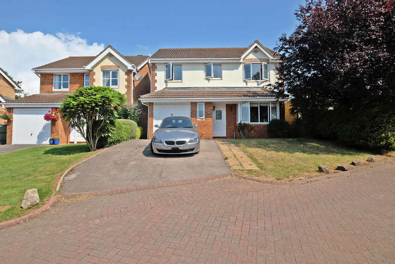 4 Bedrooms Detached House for sale in Juno Drive, Lydney