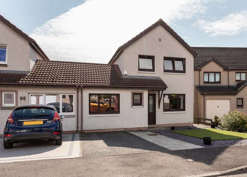 4 Bedrooms Semi Detached House for sale in Hospitalfield Gardens, Arbroath, Angus, DD11 2LW
