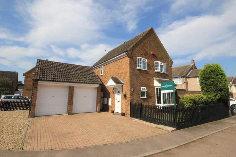 4 Bedrooms Detached House for sale in Sanderson Close, Westoning, MK45