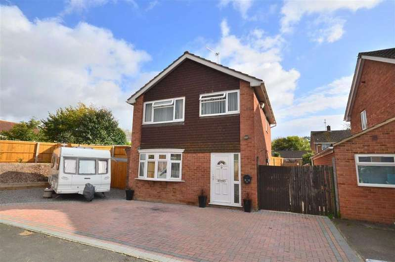 3 Bedrooms Detached House for sale in Fairford Way, Fairford Way, Saintbridge, Gloucester, Gloucester