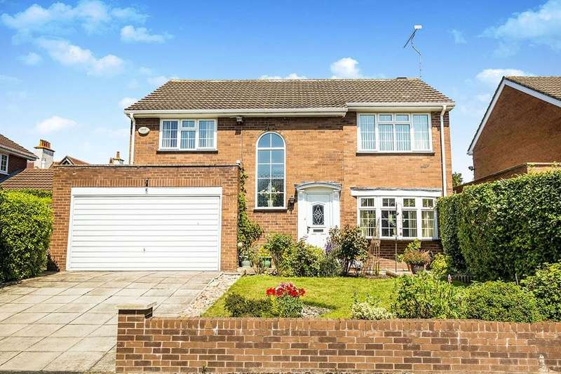 4 Bedrooms Detached House for sale in Crofters Way, Saughall, Chester, CH1