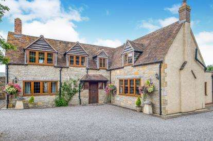 4 Bedrooms Detached House for sale in Gibbs Lane, Offenham, Evesham, Worcestershire