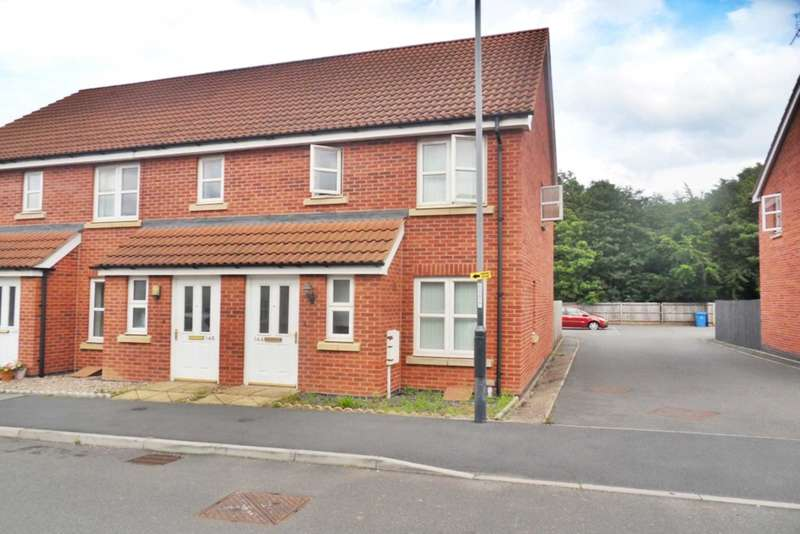2 Bedrooms End Of Terrace House for sale in Girton Way, Mickleover