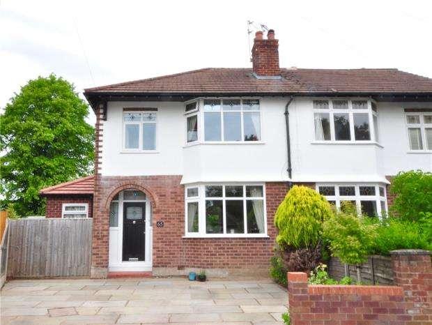 3 Bedrooms Semi Detached House for sale in Oaklea Avenue, Hoole, Chester