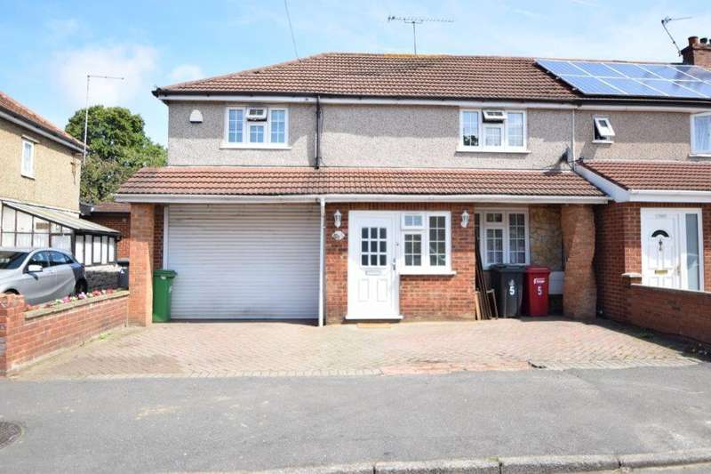 5 Bedrooms End Of Terrace House for sale in St Elmo Crescent, Slough, SL2