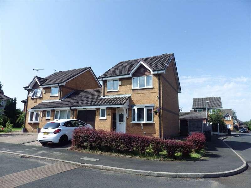 3 Bedrooms Link Detached House for sale in Larks Rise, Littlemoss, Droylsden, Greater Manchester, M43