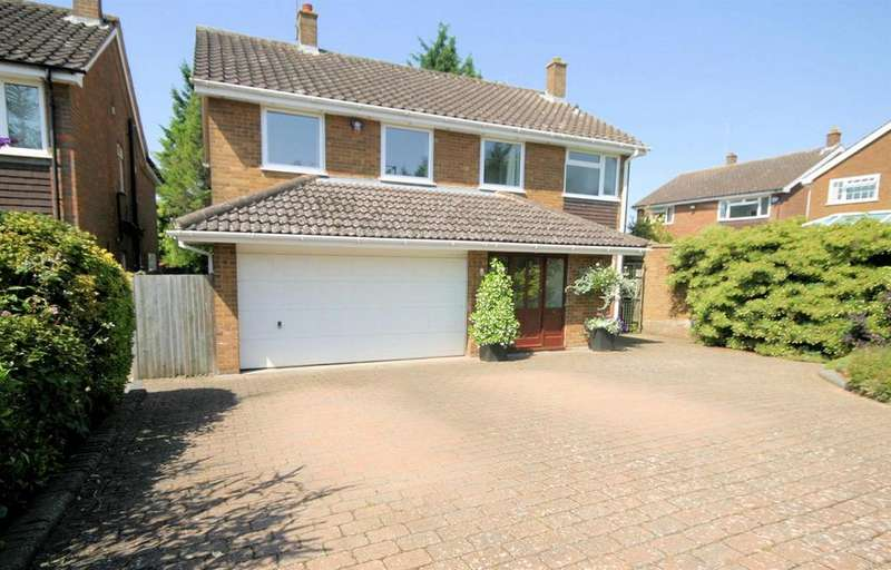 4 Bedrooms Detached House for sale in Upton Close, Luton