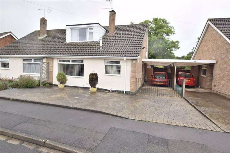 3 Bedrooms Semi Detached House for sale in Pittmill Gardens, Hucclecote, Hucclecote Gloucester