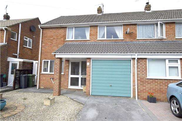 3 Bedrooms Semi Detached House for sale in Quarry Gardens, DURSLEY, Gloucestershire, GL11 6HW