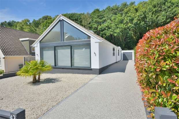 4 Bedrooms Detached Bungalow for sale in Wren Crescent, Coy Pond, Poole