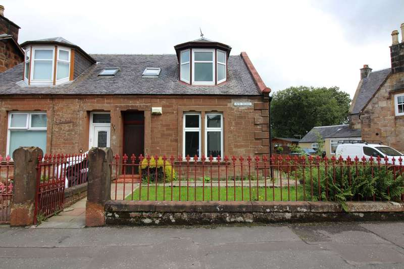 3 Bedrooms Semi Detached House for sale in Ayr Road, Dalmellington