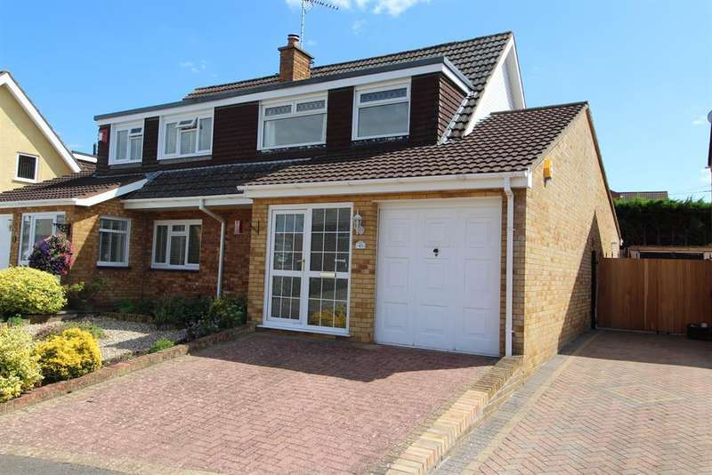 3 Bedrooms Semi Detached House for sale in Charnwood Road, Whitchurch, Bristol, BS14 0JY