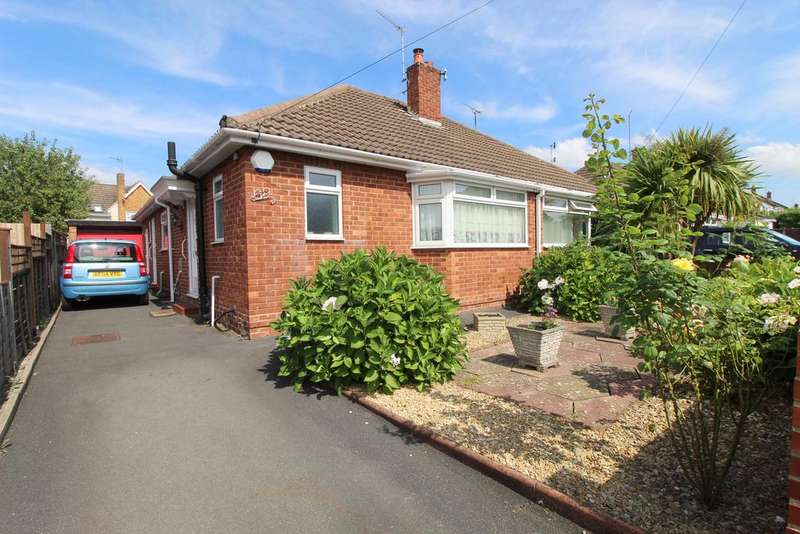 2 Bedrooms Semi Detached Bungalow for sale in HATHERLEY, GL51