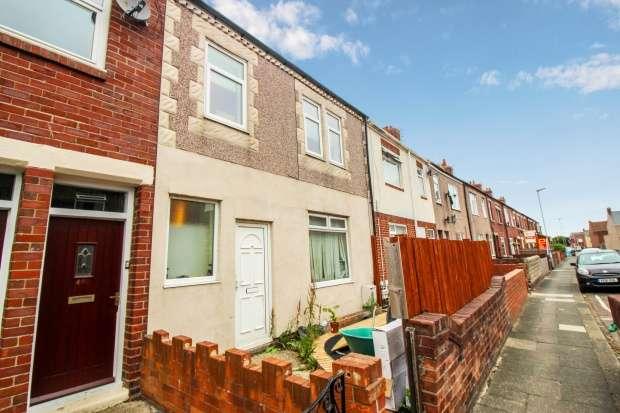 Terraced House for sale in Castle Terrace, Ashington, Northumberland, NE63 9EY