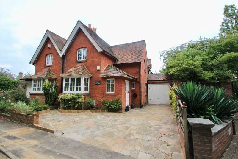 3 Bedrooms Semi Detached House for sale in Church Lane, Wormley, Broxbourne, Hertfordshire, EN10 7QF