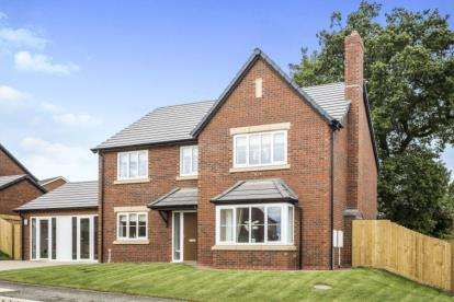 4 Bedrooms Detached House for sale in Kingfisher Way, Morda, Oswestry, SY10