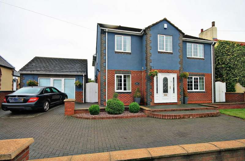 4 Bedrooms Detached House for sale in Front Street, Sherburn Hill, Durham