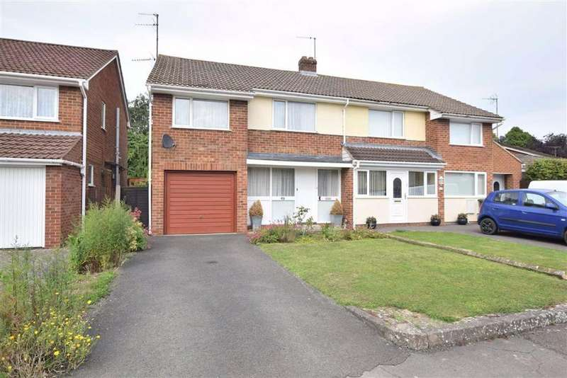 3 Bedrooms Semi Detached House for sale in Fieldcote Drive, Hucclecote, Gloucester