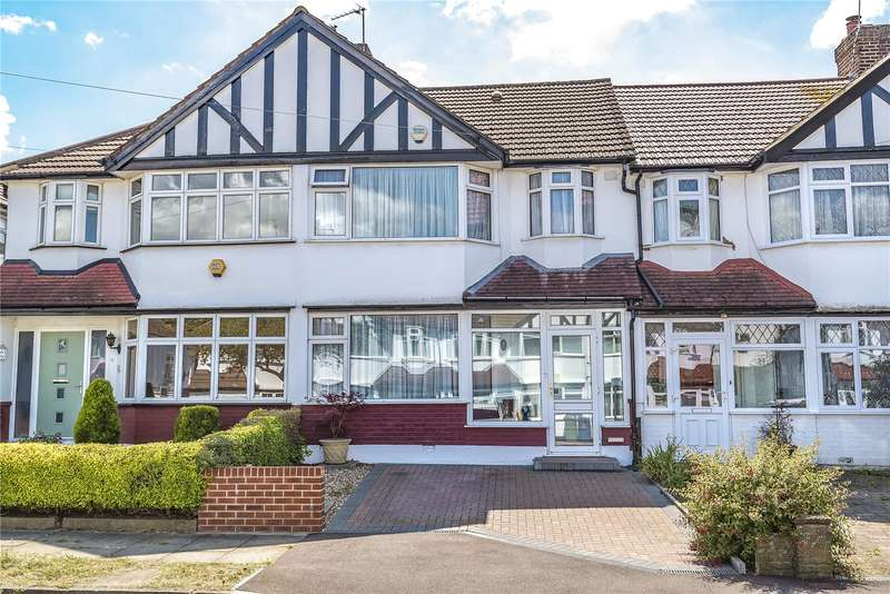 3 Bedrooms Terraced House for sale in Fairview Crescent, Harrow, Middlesex, HA2