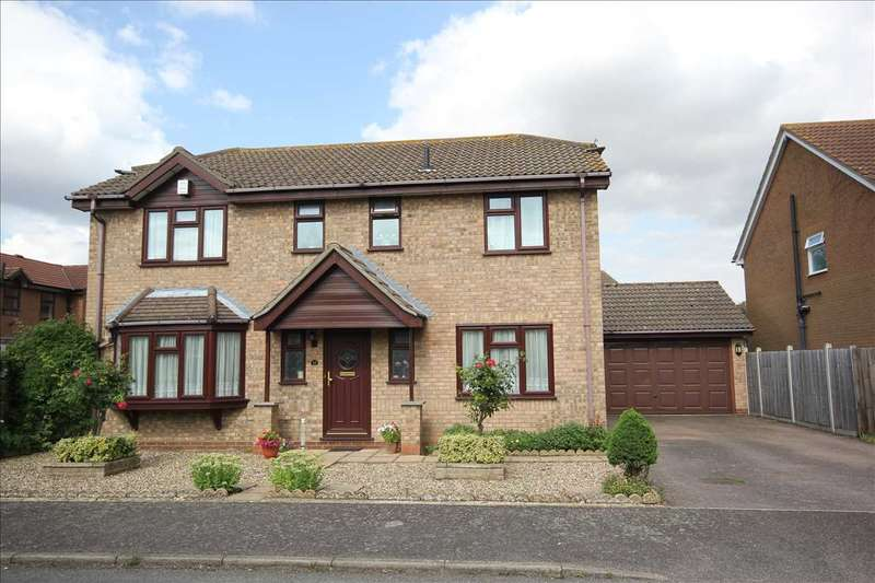 4 Bedrooms Detached House for sale in Eldred Drive, Great Cornard