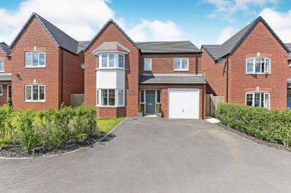 4 Bedrooms Detached House for sale in Wood View, Grendon, Atherstone