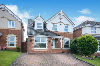 3 Bedrooms Detached House for sale in Limekiln Way, Barlborough, Chesterfield, Derbyshire