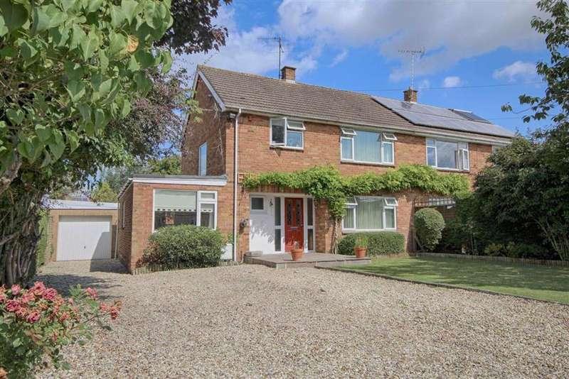 3 Bedrooms Semi Detached House for sale in Stoke Road, Stoke Orchard, Cheltenham, GL52