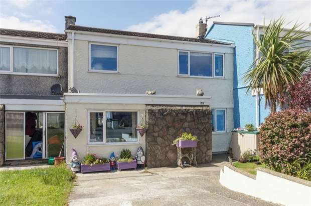 3 Bedrooms Terraced House for sale in Alaw View, Rhosybol, Amlwch, Anglesey
