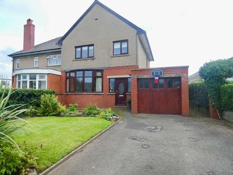3 Bedrooms Semi Detached House for sale in Lancaster Road, Morecambe, Lancashire, LA4