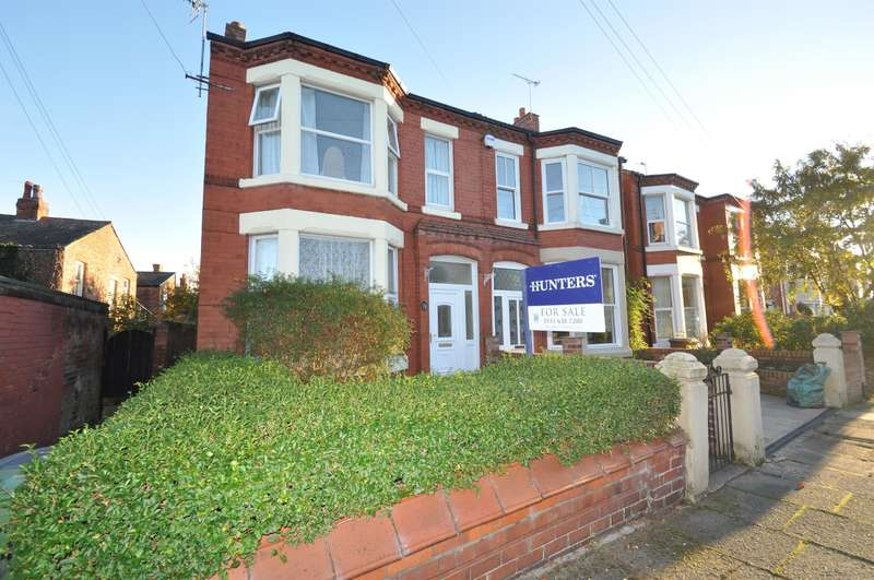 3 Bedrooms Semi Detached House for sale in Newland Drive, Wallasey, CH44 2AX