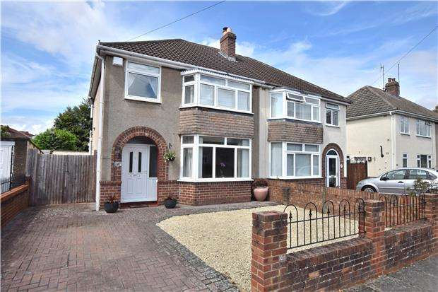 3 Bedrooms Semi Detached House for sale in Brooklyn Gardens, CHELTENHAM, Gloucestershire, GL51 8LL
