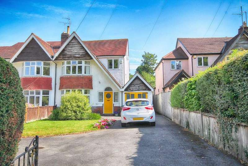 3 Bedrooms Semi Detached House for sale in Queens Road, Christchurch, Cheltenham, GL50