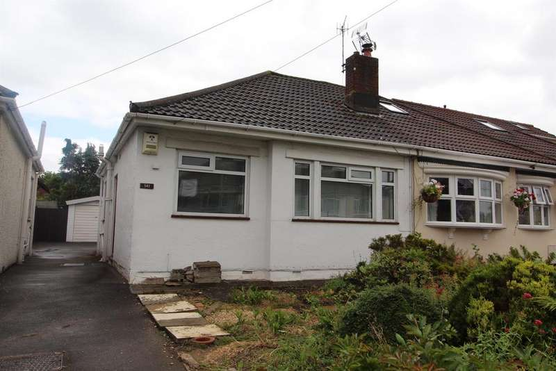 2 Bedrooms Bungalow for sale in Fortfield Road, Whitchurch, Bristol, BS14 9NU