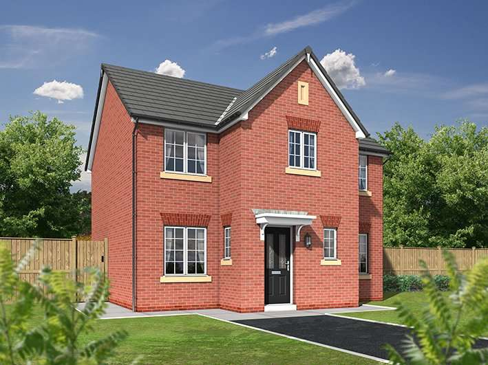 4 Bedrooms Detached House for sale in Plot 113 The Nightingale, Calder View, Daniel Fold Lane, Catterall, PR3
