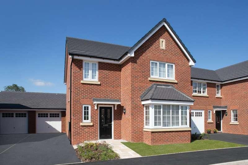 4 Bedrooms Detached House for sale in Plot 107 The Wren, Calder View, Daniel Fold Lane, Catterall, PR3