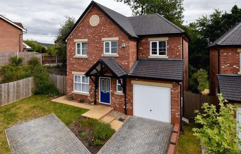 4 Bedrooms Detached House for sale in Vicarage Avenue, Congleton, Cheshire, CW12