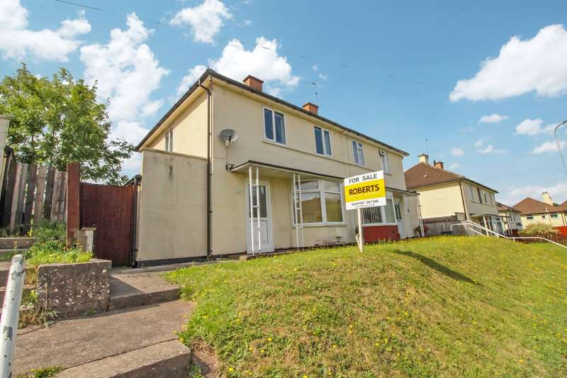 2 Bedrooms Semi Detached House for sale in Blaen Y Pant Crescent, Newport, NP20