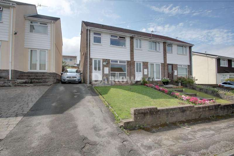 3 Bedrooms End Of Terrace House for sale in Chestnut Close, New Inn, Pontypool
