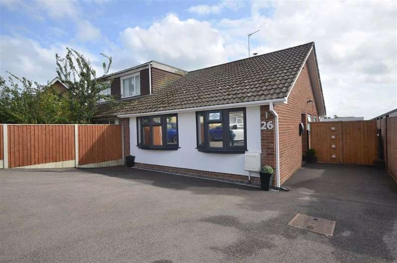 2 Bedrooms Bungalow for sale in Thoresby Avenue,Tuffley,Gloucester, GL4