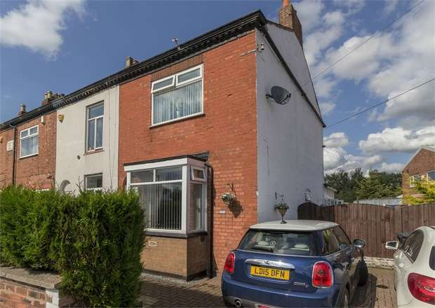 3 Bedrooms End Of Terrace House for sale in Middlewich Road, Northwich, Cheshire