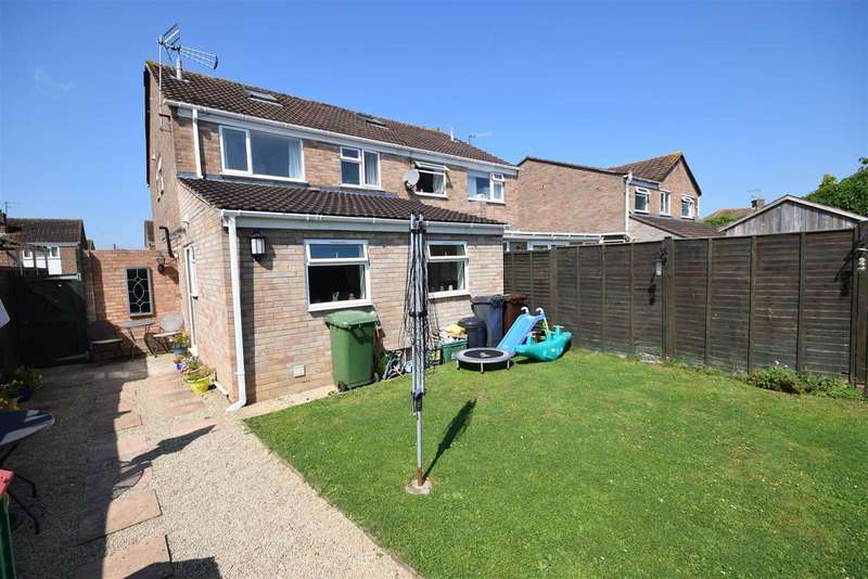3 Bedrooms Semi Detached House for sale in Dozule Close, Leonard Stanley, Stonehouse