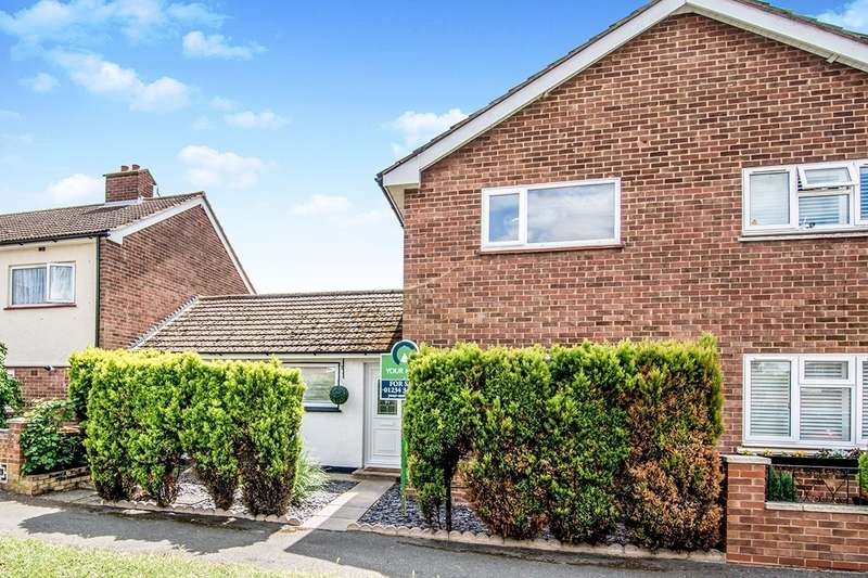 3 Bedrooms Semi Detached House for sale in Elliott Crescent, Bedford, MK41