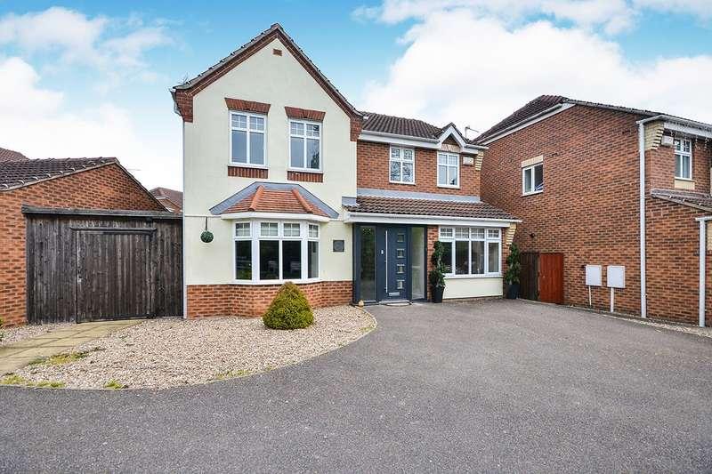 4 Bedrooms Detached House for sale in Buntingbank Close, South Normanton, Alfreton, Derbyshire, DE55