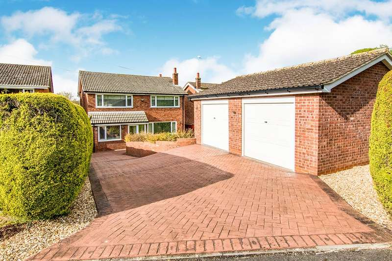 4 Bedrooms Detached House for sale in Martin Close, Heighington, Lincoln, LN4