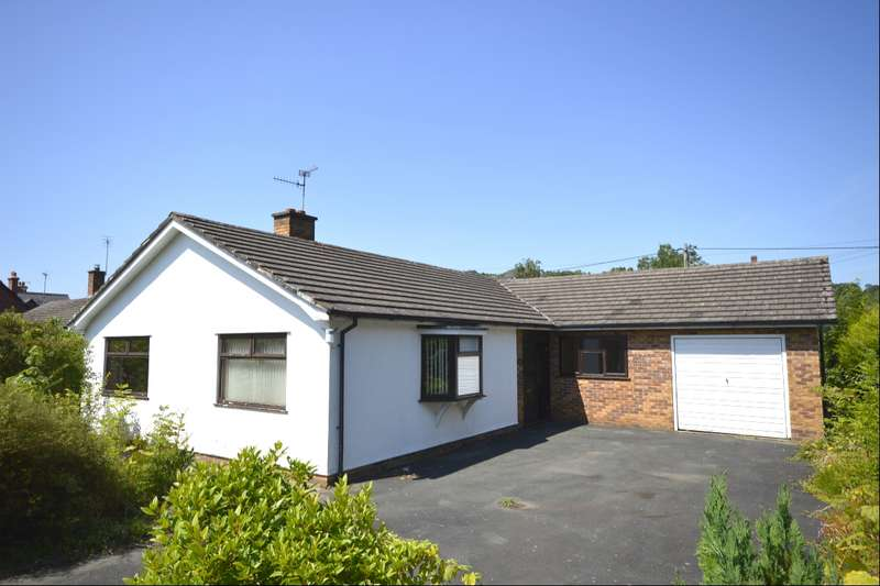 3 Bedrooms Detached Bungalow for sale in Rectory Lane, Llanymynech, Powys, SY22